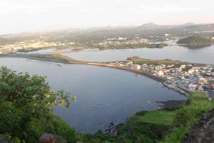 済州島の街並み
