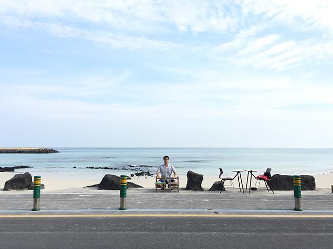 月汀里海岸(ウォルジョンリヘアン / 월정리해안)
