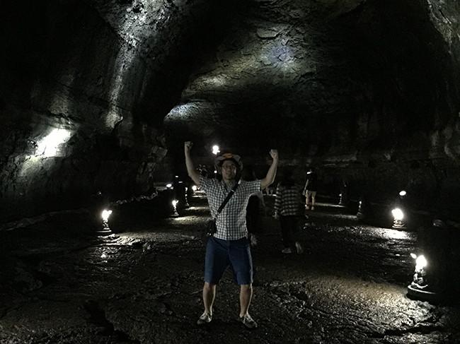 済州島を代表する観光スポットマンジャングル(万丈窟 / 만장굴)