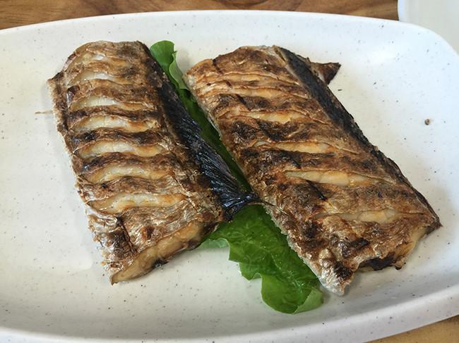 カルチグイ(太刀魚の焼き)