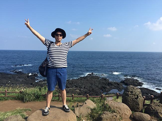 コムモルレ海水浴場(검멀레 해수욕장)