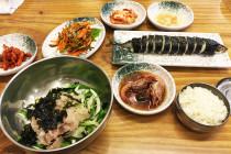 ウジョンフェセンター(우정회센터)の料理