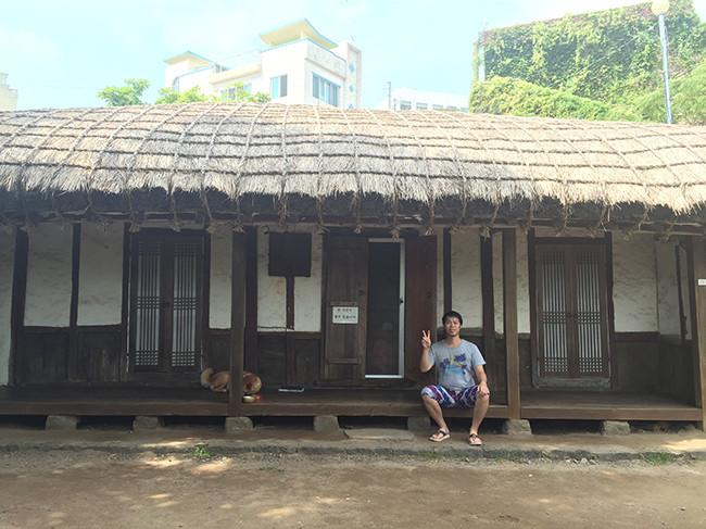 イ・ジュンソプ美術館の横「イ・ジュンソプの家」
