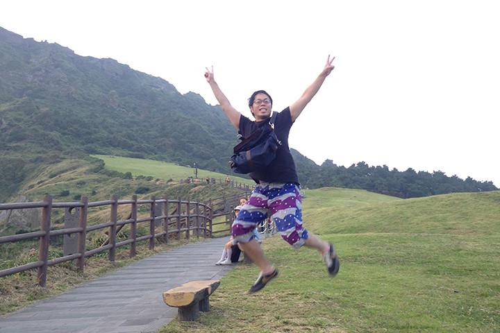 城山日出峰のトレッキングコース