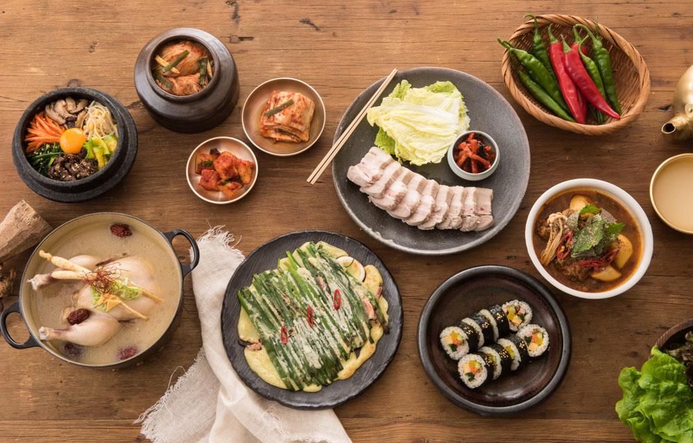 韓国語単語 - 食べ物