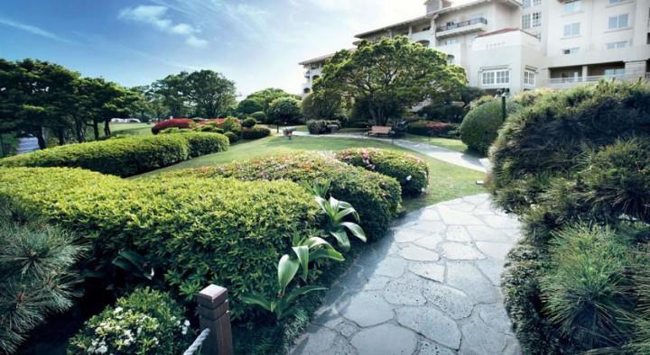 済州新羅ホテルの「スンビ庭園」
