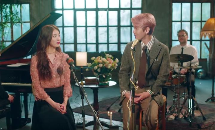 EXOベクヒョン&miss Aスジ