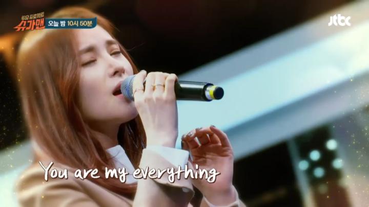 Gummy(거미)「You Are My Everything」のライブを初公開
