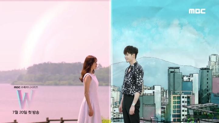 MBC水木ドラマ「W-二つの世界/더블유」のティーザー映像の第2弾