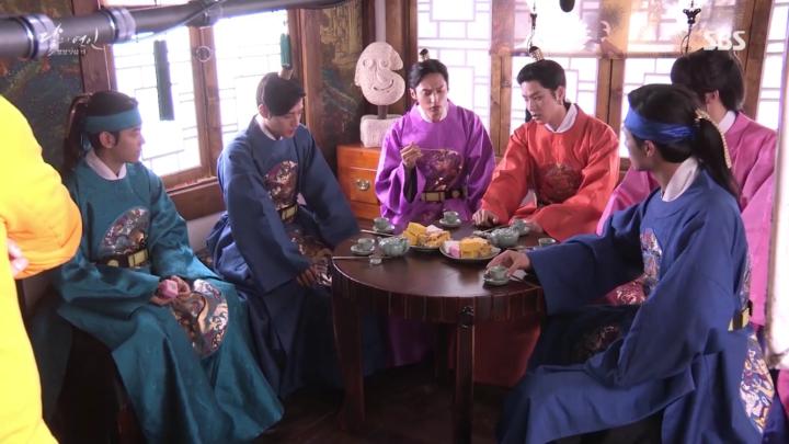 「月の恋人-歩歩驚心:麗」メイキング映像を公開!気持ちよく暖かくなる皇子たちの撮影現場