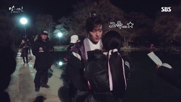 「月の恋人-歩歩驚心:麗」メイキング映像を公開!とてもスイートな8皇子カン・ハヌル