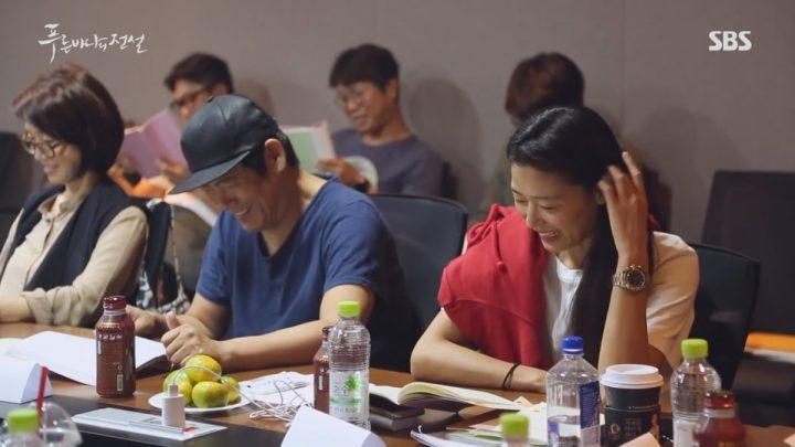 チョン・ジヒョン&イ・ミンホの台本リーディング現場