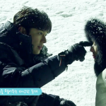 「青い海の伝説」メイキング映像を公開!雪原に横になったイ・ミンホ&チョン・ジヒョン