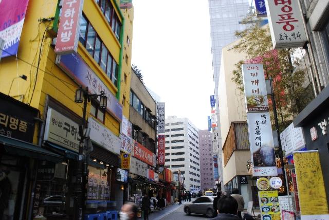 よく使う韓国語単語 – 場所・建物一覧