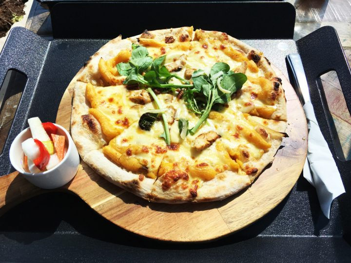monsantのピザ
