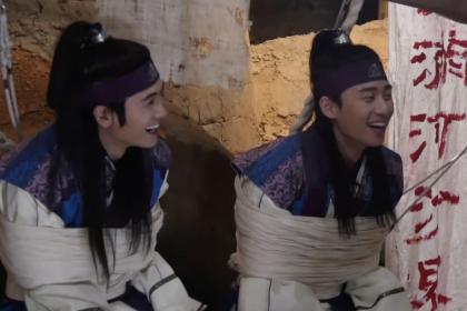 「花郎(ファラン)」メイキング映像を公開!和気藹々なパク・ソジュン&パク・ヒョンシク