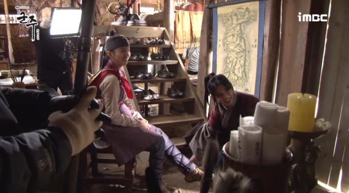 「君主 – 仮面の主人」メイキング映像を公開!朝鮮版シンデレラキム・ソヒョン