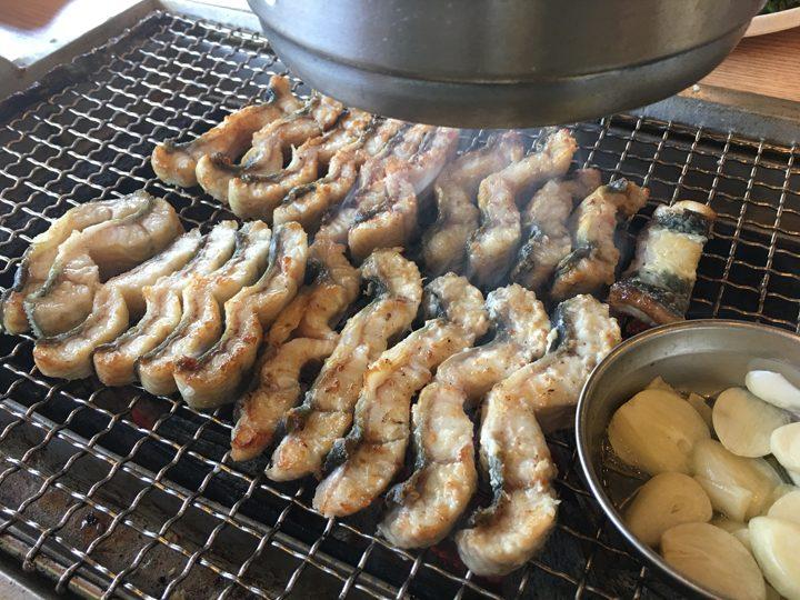 チャンオナラ/장어나라(ウナギの国)焼き加減