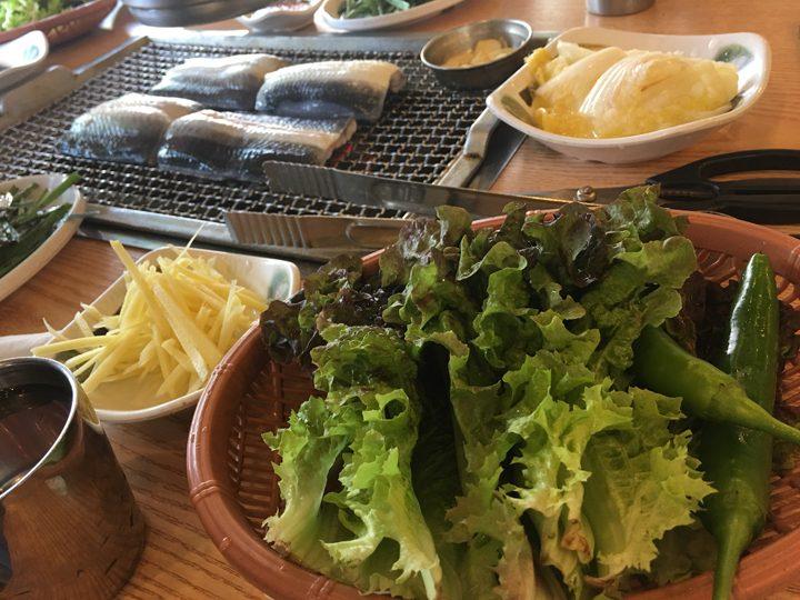 チャンオナラ/장어나라(ウナギの国)サンチュ