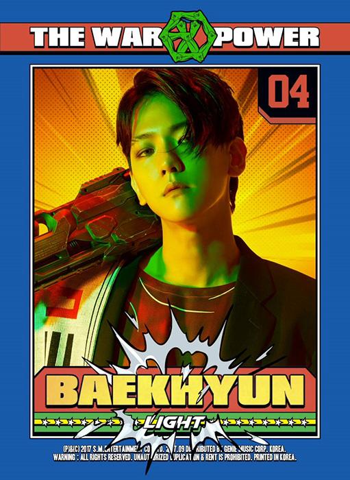 BAEKHYUN(ベクヒョン)を韓国語では?