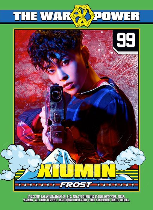 XIUMIN(シウミン)を韓国語では?