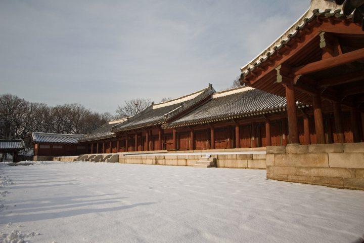 「宗廟(そうびょう)」を韓国語では?私は宗廟に行きたいです