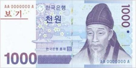 1000ウォン