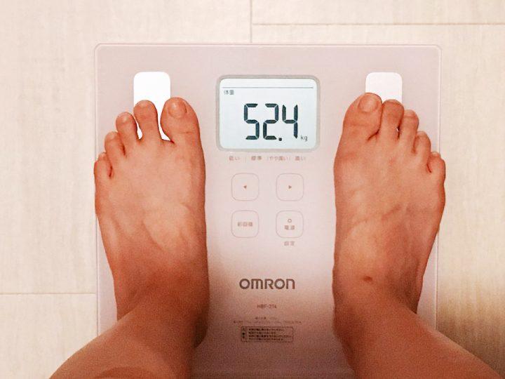 体重 52.4キロ