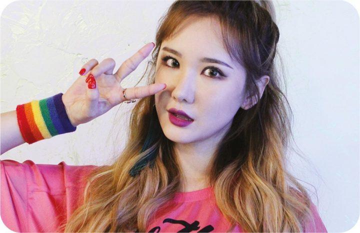 LE(エリー)を韓国語では?