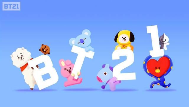BT21キャラクター名前の読み方まとめ!防弾少年団(BTS)デザインのBT21とは?