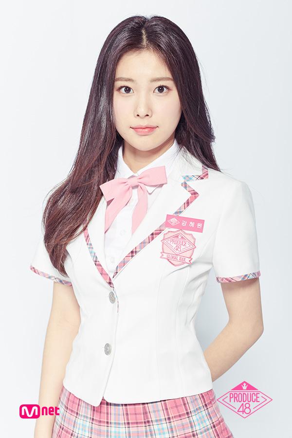 カン・ヘウォン(Kang Hye Won)を韓国語では?