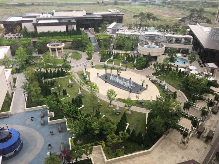 パラダイスホテル&リゾート(Paradise Hotel&Resort)部屋からの景色
