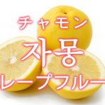 「グレープフルーツ」を韓国語では?「자몽(チャモン)」の意味