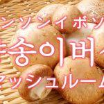 「マッシュルーム」を韓国語では?「양송이버섯(ヤンソンイボソッ)」の意味