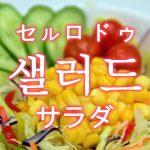 「サラダ」を韓国語では?「샐러드(セルロドゥ)」の意味