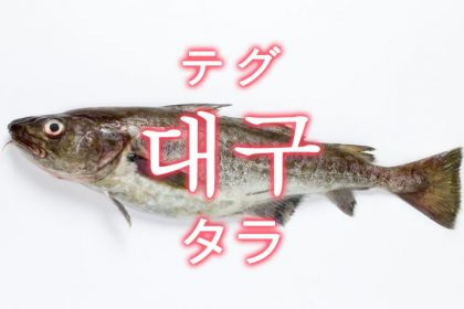 「タラ(鱈)」を韓国語では?「대구(テグ)」の意味