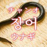 「ウナギ(鰻)」を韓国語では?「장어(チャンオ)」の意味