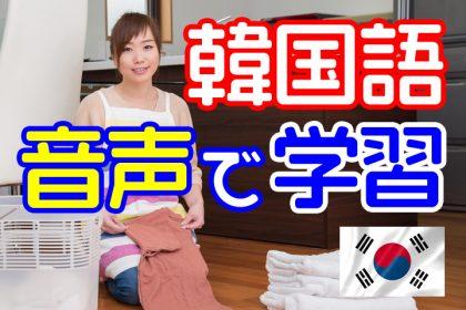 【朗報】韓国語を音声で学習できるオーディオブックがおすすめ【時間がない・忙しい人向け】