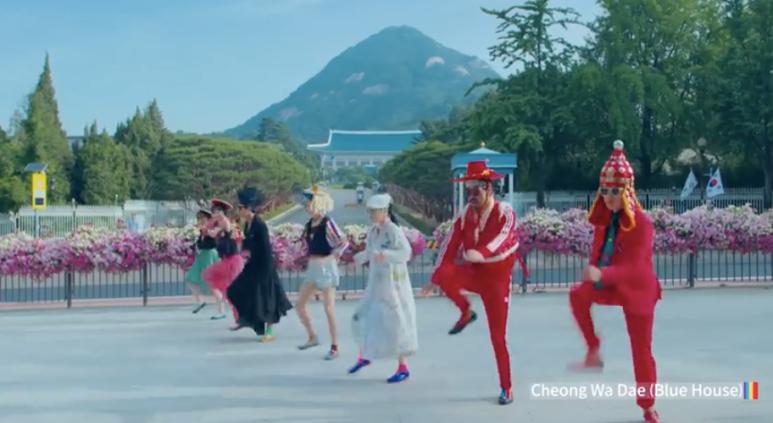 イナルチとアンビギュアスダンスカンパニーのコラボ「Feel the Rhythm of Korea」の映像が癖になる